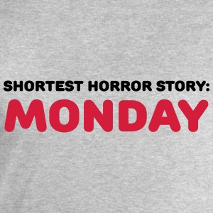 Shortest Horror Story: Monday T-shirts - Sweatshirt herr från Stanley & Stella