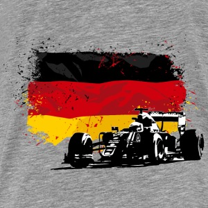 Formula One -  German Flag Pullover & Hoodies - Männer Premium T-Shirt