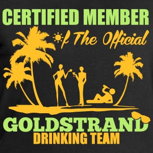 Certified member of the GOLDSTRAND drinking team Koszulki - Bluza męska Stanley & Stella