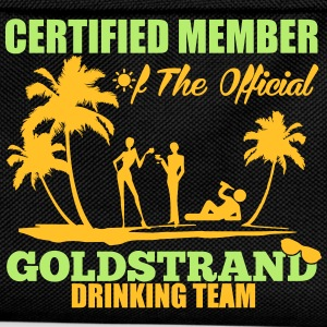Certified member of the GOLDSTRAND drinking team T-shirts - Rugzak voor kinderen