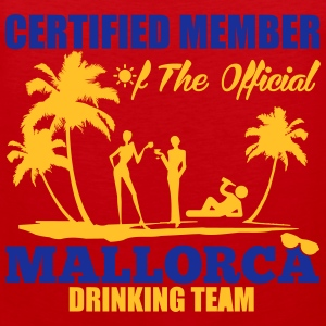 Certified member of the MALLORCA drinking team Magliette - Canotta premium da uomo