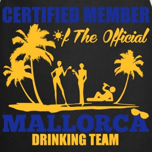 Certified member of the MALLORCA drinking team Magliette - Grembiule da cucina