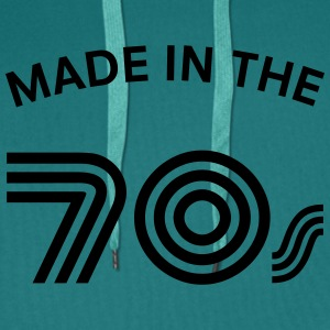 Made In The 70\'s T-Shirts - Men's Premium Hoodie