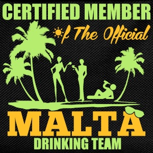 Certified member of the MALTA drinking team Tee shirts - Sac à dos Enfant