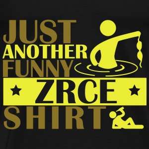 JUST ANOTHER FUNNY ZRCE SHIRT Tops - Mannen Premium T-shirt