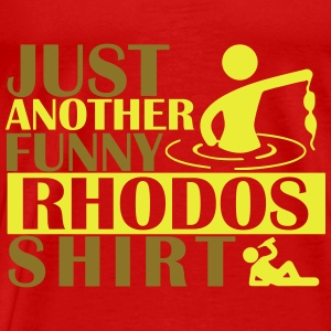 JUST ANOTHER FUNNY RHODOS SHIRT Tops - Camiseta premium hombre