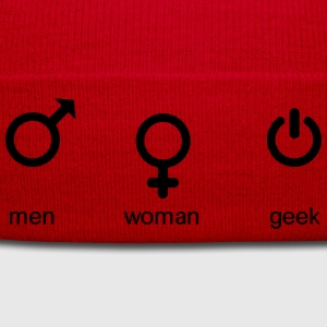men woman geek T-shirts - Winterhue