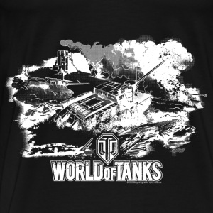 World of Tanks Battlefield Men Hoodie - Men's Premium T-Shirt
