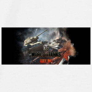World of Tanks Champ de bataille coleur tasse - T-shirt Premium Homme