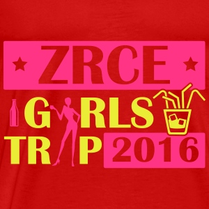 ZRCE GIRLS TRIP 2016 Topper - Premium T-skjorte for menn