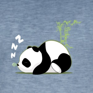 Sleeping panda - Men's Vintage T-Shirt
