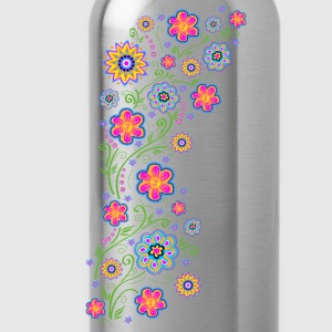 Summer flowers, spring, garden, nature, beautiful T-Shirts - Water Bottle