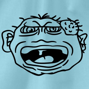 monster wart pimples disgusting decisive cripple e T-Shirts - Drawstring Bag