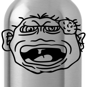 monster wart pimples disgusting decisive cripple e T-Shirts - Water Bottle