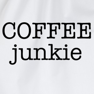 coffee junkie - Drawstring Bag