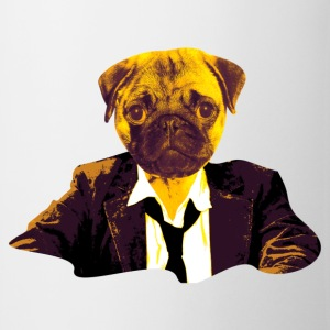 pug at work T-Shirts - Mug