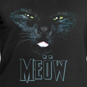 Cat shirt meow Heavy Metal black shirt T-Shirts - Men's Sweatshirt by Stanley & Stella