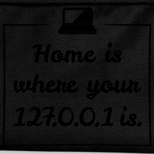 Home is 127.0.0.1 - Kinder Rucksack