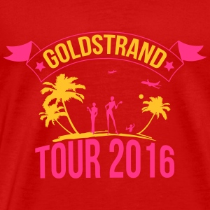 Golden Sands tour 2016 Sportkleding - Mannen Premium T-shirt