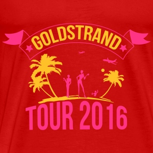 Golden Sands tour 2016 Toppe - Herre premium T-shirt