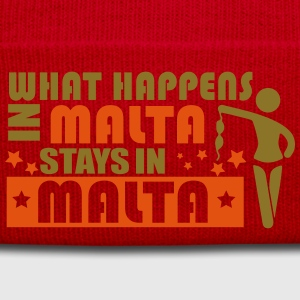WHAT HAPPENS IN MALTA STAY N MALTA T-Shirts - Winter Hat
