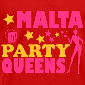 MALTA PARTY QUEENS Tops - Men's Premium T-Shirt