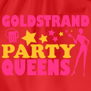GOLDEN SANDS PARTIJ QUEENS T-shirts - Gymtas