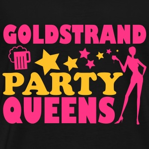 GOLDEN SANDS PARTIJ QUEENS Tops - Mannen Premium T-shirt