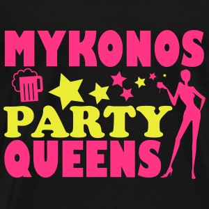 MYKONOS PARTY QUEENS Tops - Men's Premium T-Shirt