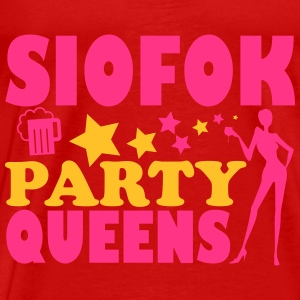 SIOFOK PARTY QUEENS Topper - Premium T-skjorte for menn
