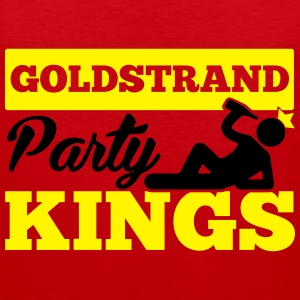 GOLDSTRAND PARTY KINGS T-Shirts - Männer Premium Tank Top