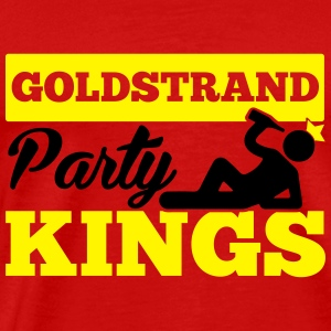 GOLDSTRAND PARTY KINGS Sportkleding - Mannen Premium T-shirt
