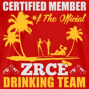 Certified member of the ZRCE drinking team Tops - Camiseta premium hombre