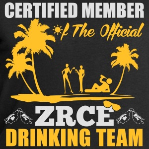 Certified member of the ZRCE drinking team T-shirts - Sweatshirt herr från Stanley & Stella