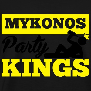 MYKONOS PARTY KINGS Sportsklær - Premium T-skjorte for menn