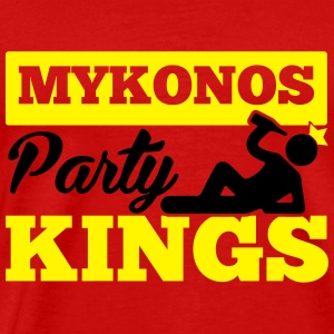 MYKONOS PARTY KINGS Sportkleding - Mannen Premium T-shirt