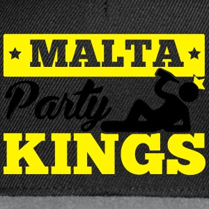 MALTA PARTY KINGS T-Shirts - Snapback Cap