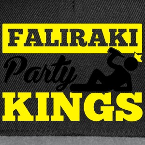 FALIRAKI PARTY KINGS T-shirts - Snapback cap