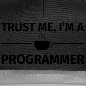 Trust me I'm a Programmer Tee shirts - Casquette snapback