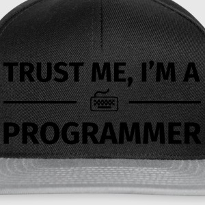 Trust me I'm an Programmer Tee shirts - Casquette snapback