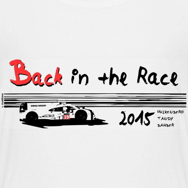 Back in the race