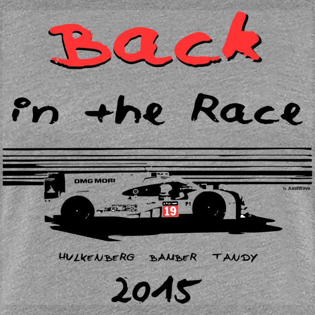 Back in the race 2