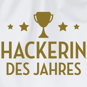 Hacker - Hackerin - Hacking - Geek - Computerfreak T-Shirts - Turnbeutel