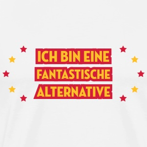 Alternative Punk Rock Hipster Bärtiger Metal Tatto Schürzen - Männer Premium T-Shirt