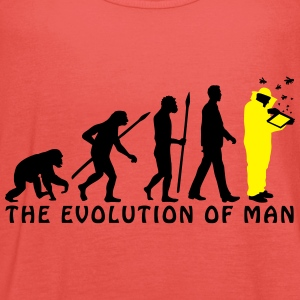 evolution_of_man_imker03_2c T-Shirts - Frauen Tank Top von Bella