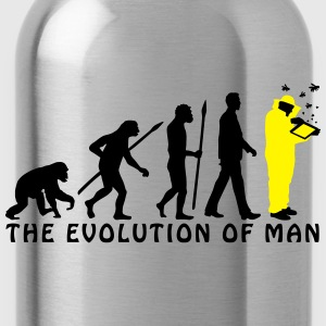 evolution_of_man_imker03_2c T-Shirts - Trinkflasche