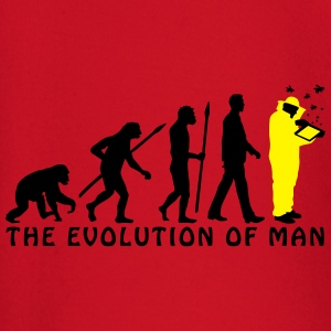 evolution_of_man_imker03_2c T-Shirts - Baby Langarmshirt