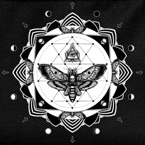 Noir tattoo mandala Sweat-shirts - Sac à dos Enfant