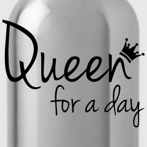 Queen for a day (Koningsdag) T-shirts - Drinkfles