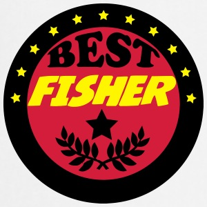 Best fisher Camisetas - Delantal de cocina